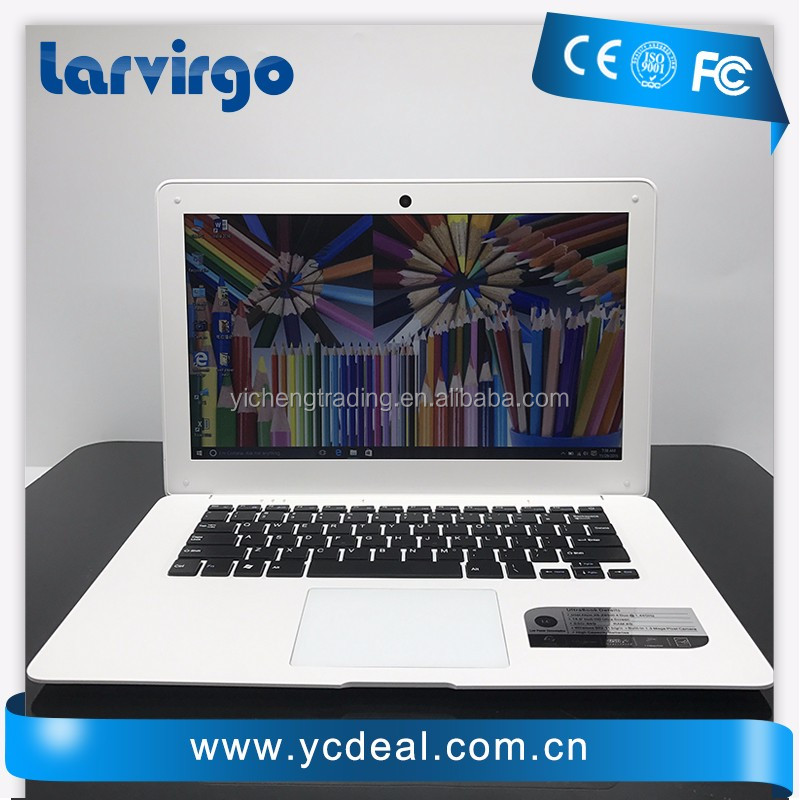 14 inch ultrabook with 4G RAM 64G SSD In-tel Atom X5-Z8300 Windows10 System Laptop WIFI with bluetooth camera