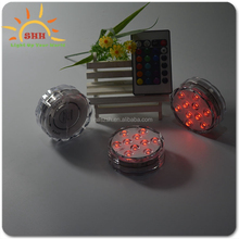 2016 party favor colorful LED Candle Wedding Decoration Submersible Floralyte LED Tea Lights Party Decoration LED Floral