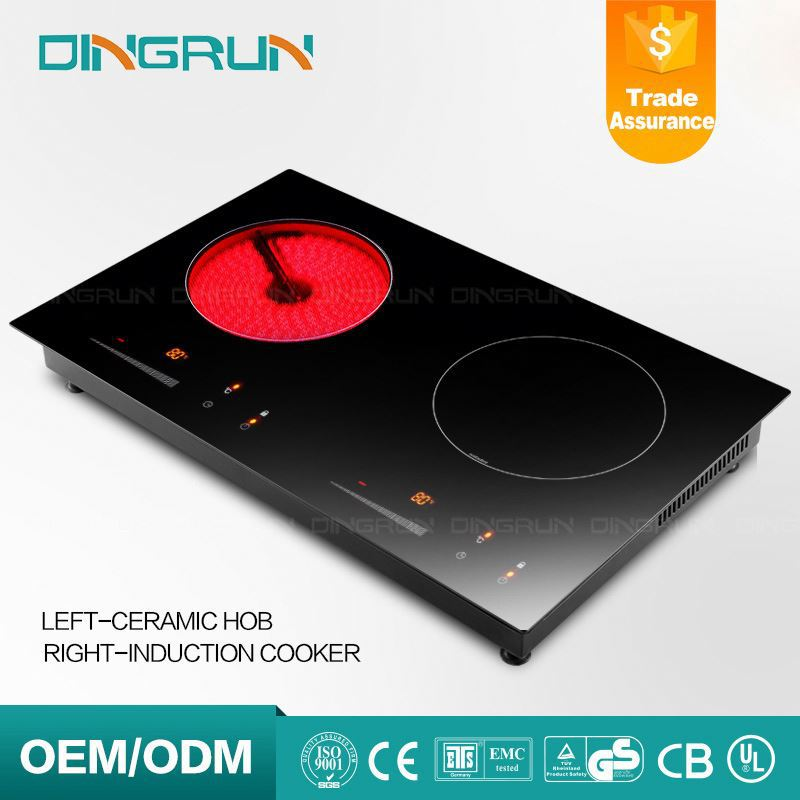 2 Burner Double Induction Cooker Electromagnetic Stove