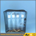 clear cosmetic packaging vinyl pvc eva zipper plastic bags, slider zipper bag, pvc makeup packaging bag with zipper