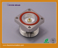 7/16 din female jack connector to 32mm flange mount with Mx3