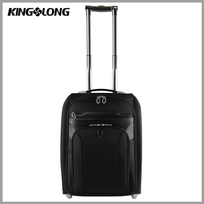Mens Small Travel Document Bag 4 Wheels Classic Trolley Luggage ...