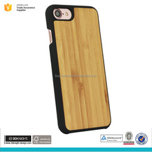 Design 5.5 inch mobile phone back cover for iphone 7 plus bamboo phone case