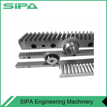 stainless steel carbon steel gear , pinion and rack