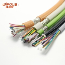 UL2733 9 core 28awg PVC Insulated Flexible Wire Cable Home Electrical Wiring Supplies