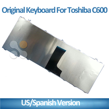 Spanish/US for toshiba laptop keyboard PC keyboard C650 C655 C655D C660 C665 C670 L650 L655 L670 L675 L750 L755 Black