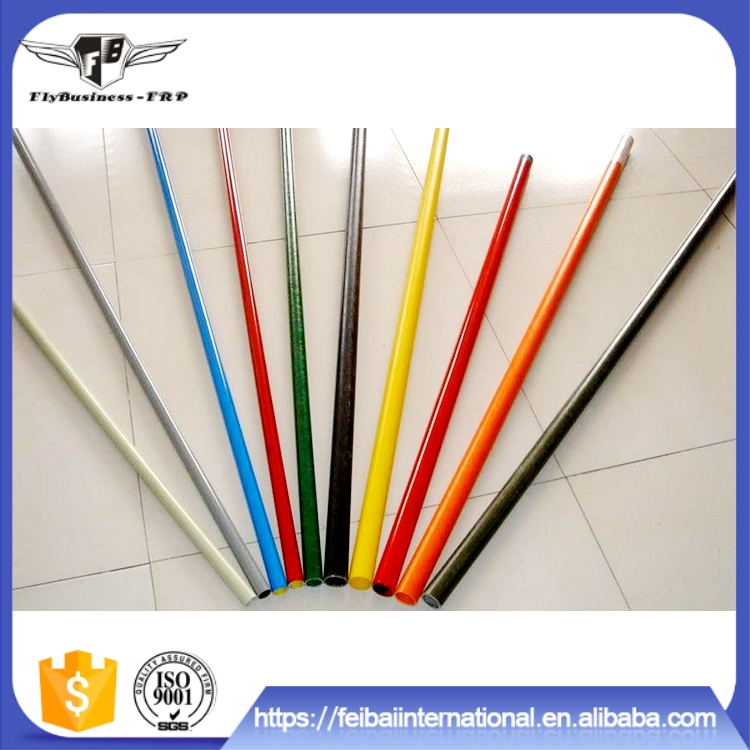 High strength and light weight corrosion pultruded flexible tent poles