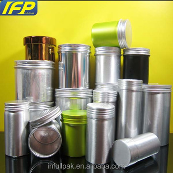 60ml, 80ml, 100ml, 120ml, 200ml, 250ml, 300ml, 350ml, 400ml Seamless Aluminum Tin Can