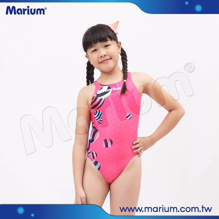 Bambini concorrenza vestito di nuoto delle ragazze bella rosa costumi da bagno per bambini - Costumi da bagno bambino ...