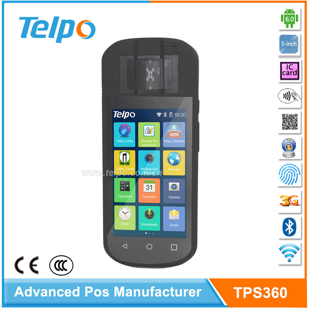 Best Selling Handheld Mobile Android Devices Pda with Sim Card slot and PSAM