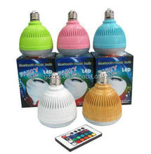 stereo bluetooth speaker,16 color-changing rgb led bulb speaker