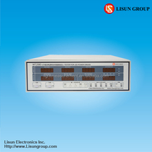 WT2080 led driver testing equipment provided with electronic load for simulating lamp