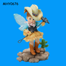 Playing branding iron naughty cute Flying Fairy