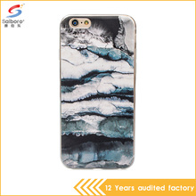 China supplier ultra thin marble stone tpu phone case for iPhone7