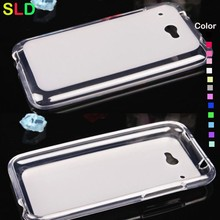 silicone back case back cover for htc desire 601