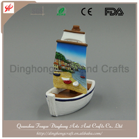 China Manufacturer Custom Printed Custom Metal Fridge Magnet