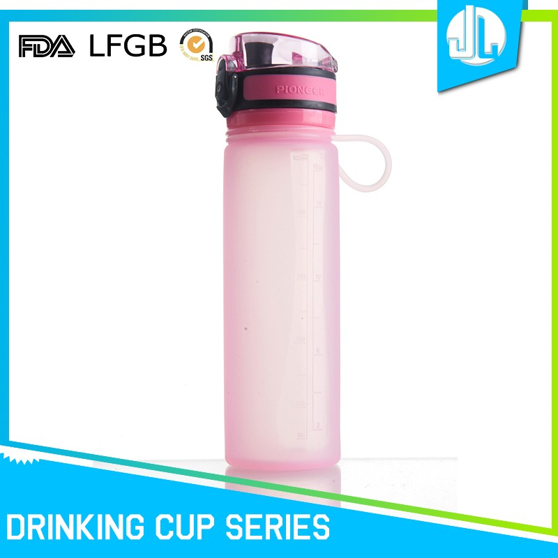 Colorful great material 500ML silicone sports drinking bottle, sports bottle