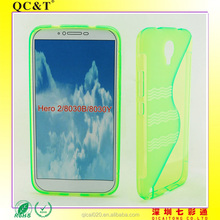 Top sale TPU case cover & TPU s line case for alcatel 8030B