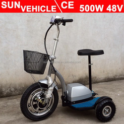 zappy 3 wheel electric scooter for old man