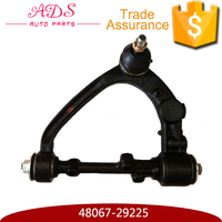China auto spare parts manufacturer left upper suspension control arm for Toyota Hiace OEM: 48067-29225
