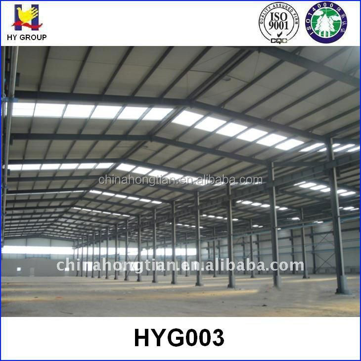 Prefabricated iron structure warehouse building