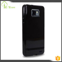 for HIGH GLOSS BLACK HYDRO GEL CASE WITH SCREEN PROTECTOR FOR SAMSUNG GALAXY S2 / SII i9100 MOBILE PHONE