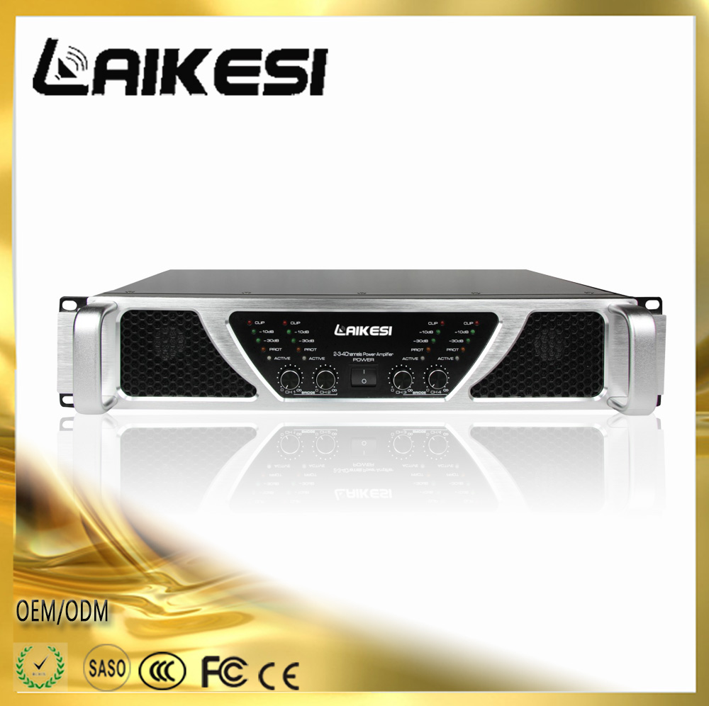 2016 NEW KA4500 500W 4 channel high power amplifier