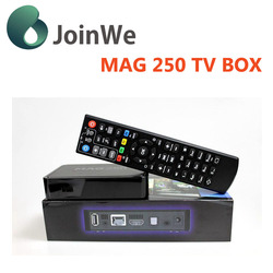 Hot seller Linux OS IPTV BOX mag 250 Processor -STi7105 4 High speed USB 2.0,support U DISK and USB HDD mag 250
