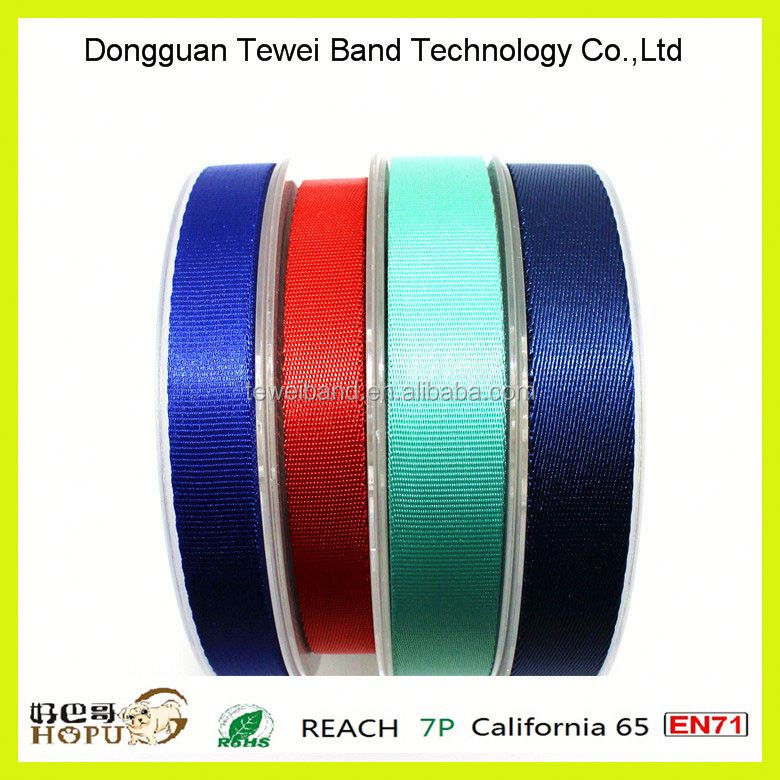 37mm colorful and durable webbing binding tape for belts