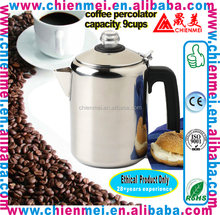 Household espresso coffee maker/Stainless Steel Stovetop Coffee Maker/Coffee Percolator