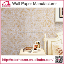 china new design printed wallpaper decoration for home