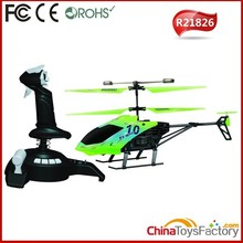 R21826 24CM 2.4G 3.5 Channel RC Simulation Console Helicopter Used Helicopter For Sale