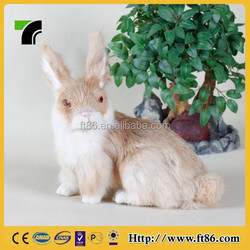 New products high quality animal toy pet plastic rabbits