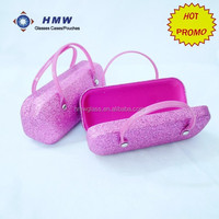Glitter Optical Hard iron Glasses case eyeglasses Case