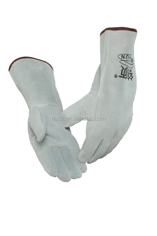 Welding and Soldering Supplies Leather Work Gloves