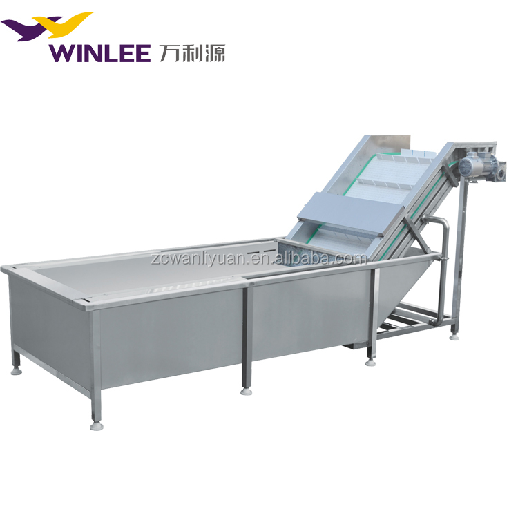 automatic industrial bubble fruit and vegetable washer machine
