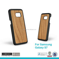 Real Natural Bamboo Wood Wooden Hard Case Cover For Samsung Galaxy S7 S7 Edge