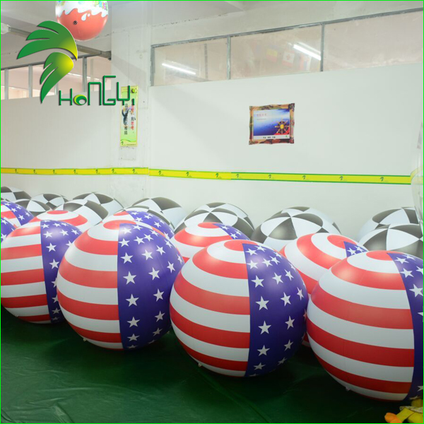 Hot sale national flag inflatable sky helium balloon for celebration
