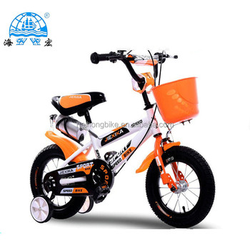Hot selling Children bicycle with bottle/children exercise bike with basket