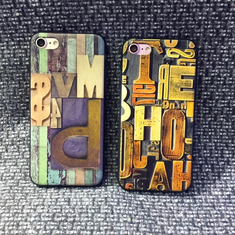 New Model 3D Sublimation Printing Mobile Phone Blank Cover Case