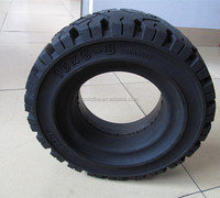 Anair forklift industrial resilient rubber solid tire