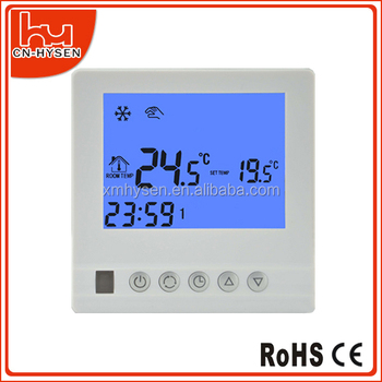 Wall mounted infrared heater panel thermostat programmable