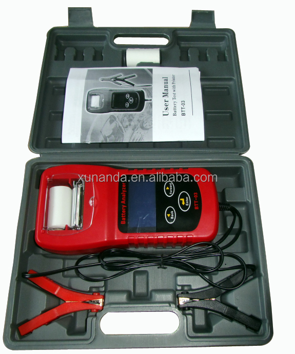 The heavy 12v battery load tester best diagnostic scanner with print sale by bulk