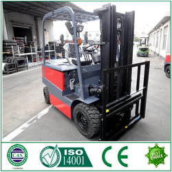ISO/CE certification electric 3 ton forklift price with stable performance