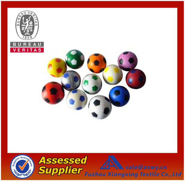 Best Selling Top Quality Customized Logo Printed PU Soccer Stress Ball