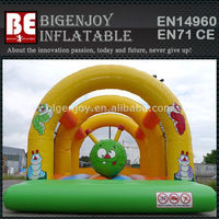 6m x 4m caterpillar inflated trampolines