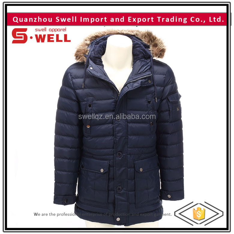 latest design quilted jacket in new model for men