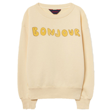 Private label sweater pullover sweatershirts letter print yellow unisex kids <strong>hoodies</strong>