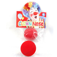 Fancy Funny gifts Cheap Halloween Sponge Red Clown Nose