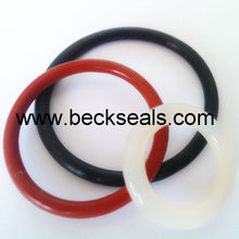 silicon rubber o rings with excellent elogation